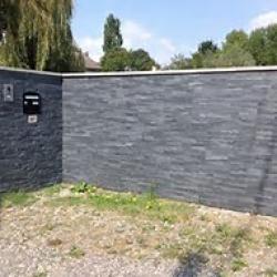 mur, pierres de parement