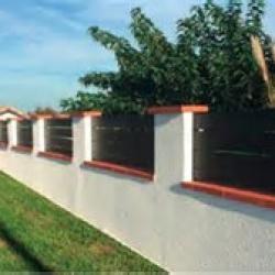 murets et clôtures