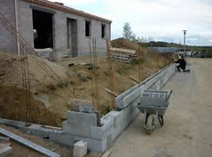 réalisation de murets de clôtures